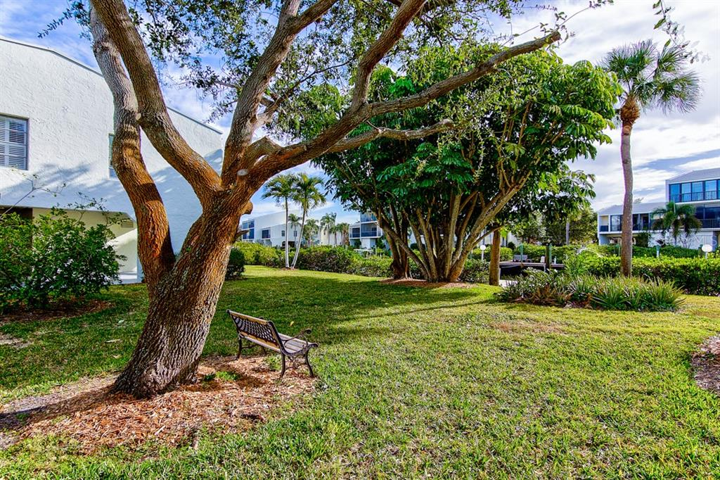 Beautiful Mature Landscaping in front - Condo for sale at 4115 129th St W #4115, Cortez, FL 34215 - MLS Number is A4424939