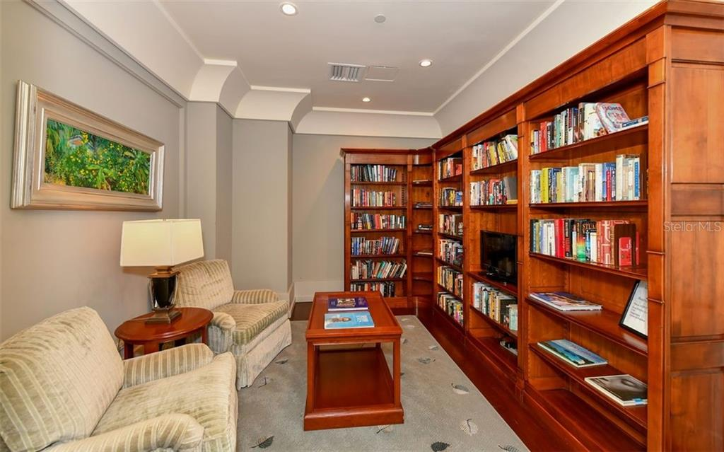 A library for the community - Condo for sale at 1350 Main St #1201, Sarasota, FL 34236 - MLS Number is A4427507