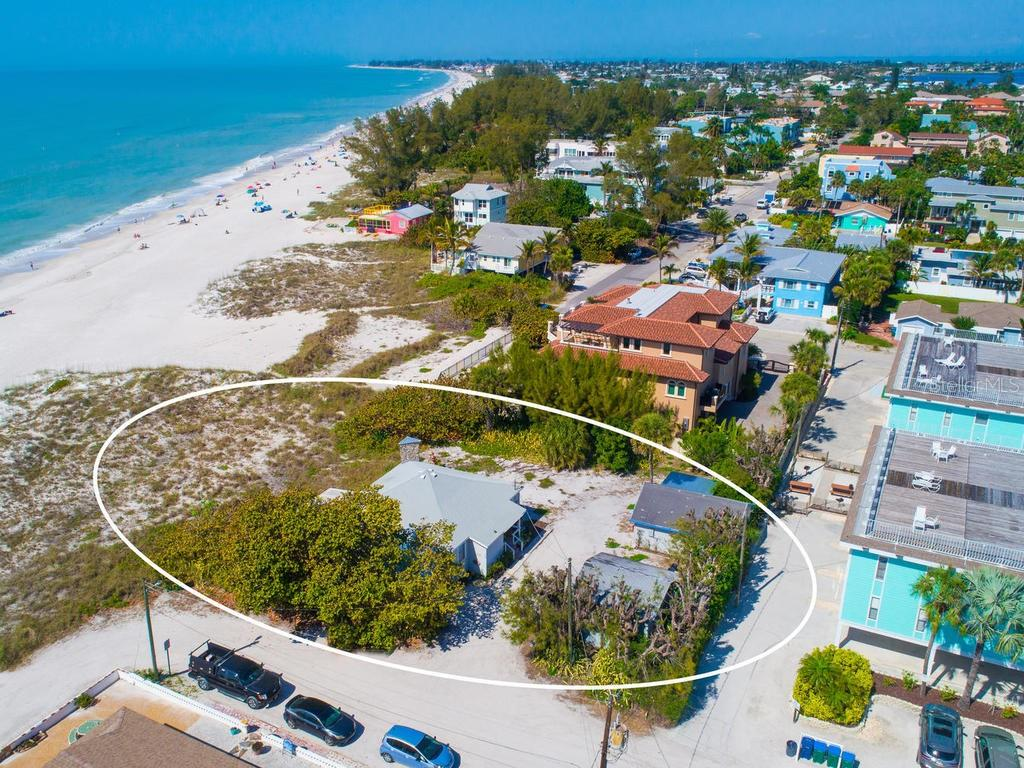10,000 square foot lot to build your dream home - Single Family Home for sale at 104 34th St, Holmes Beach, FL 34217 - MLS Number is A4427813