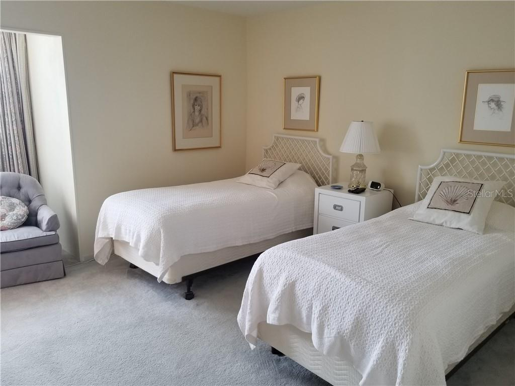 guest bedrom - Condo for sale at 1125 W Peppertree Dr #603, Sarasota, FL 34242 - MLS Number is A4430690
