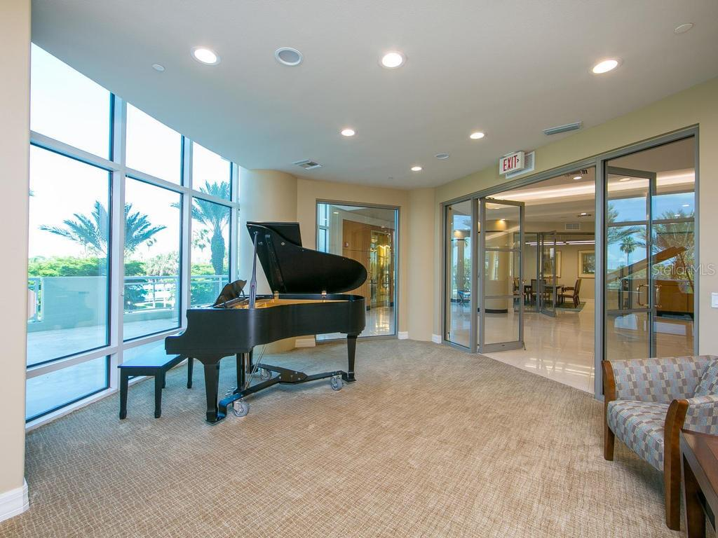 Sarabande Clubroom - Condo for sale at 340 S Palm Ave #74, Sarasota, FL 34236 - MLS Number is A4432744