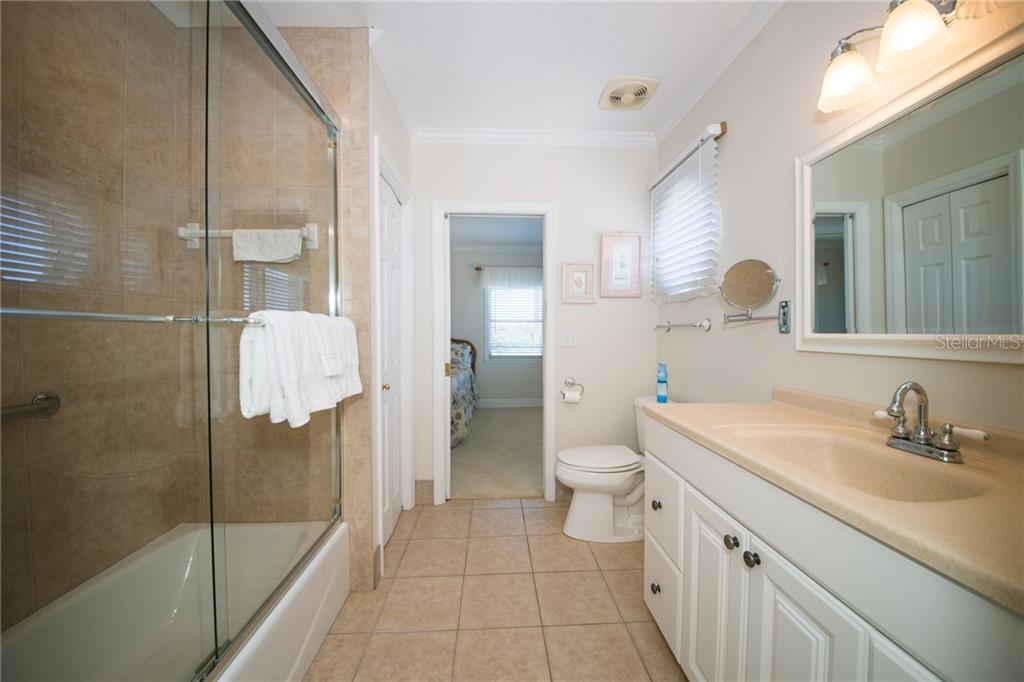 Guest Bath on 3rd Level - Single Family Home for sale at 2405 Avenue A, Bradenton Beach, FL 34217 - MLS Number is A4433128