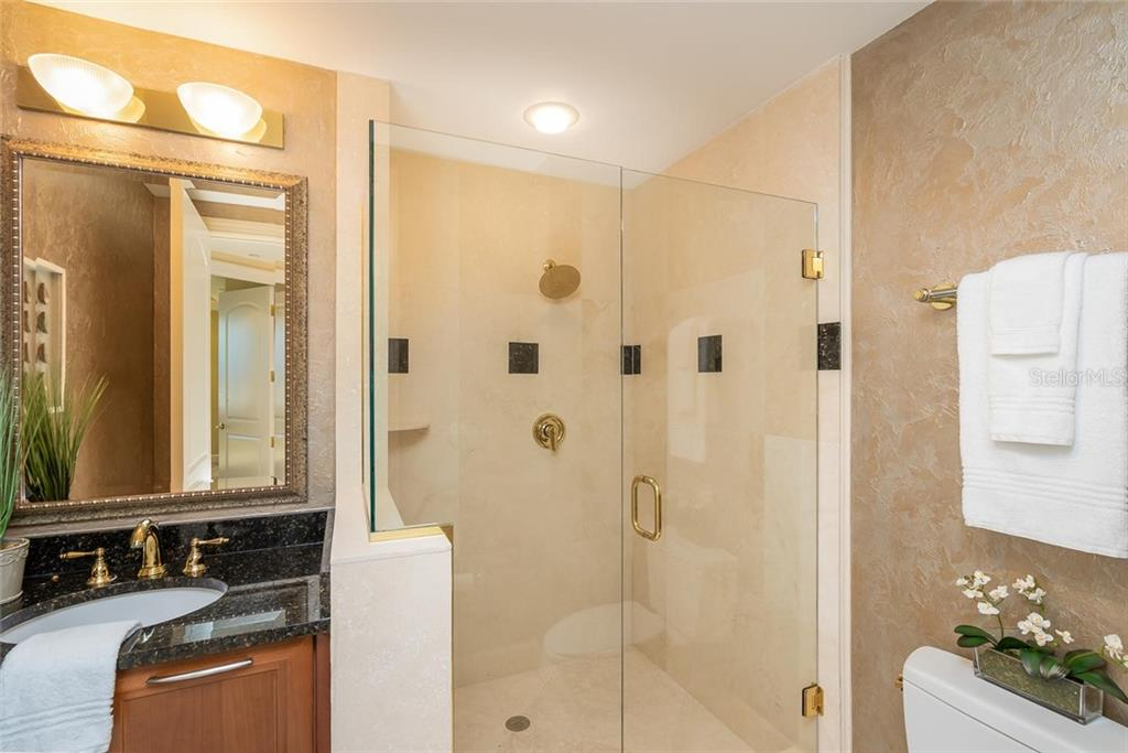 Guest Bathroom #3 - Condo for sale at 128 Golden Gate Pt #902a, Sarasota, FL 34236 - MLS Number is A4433296