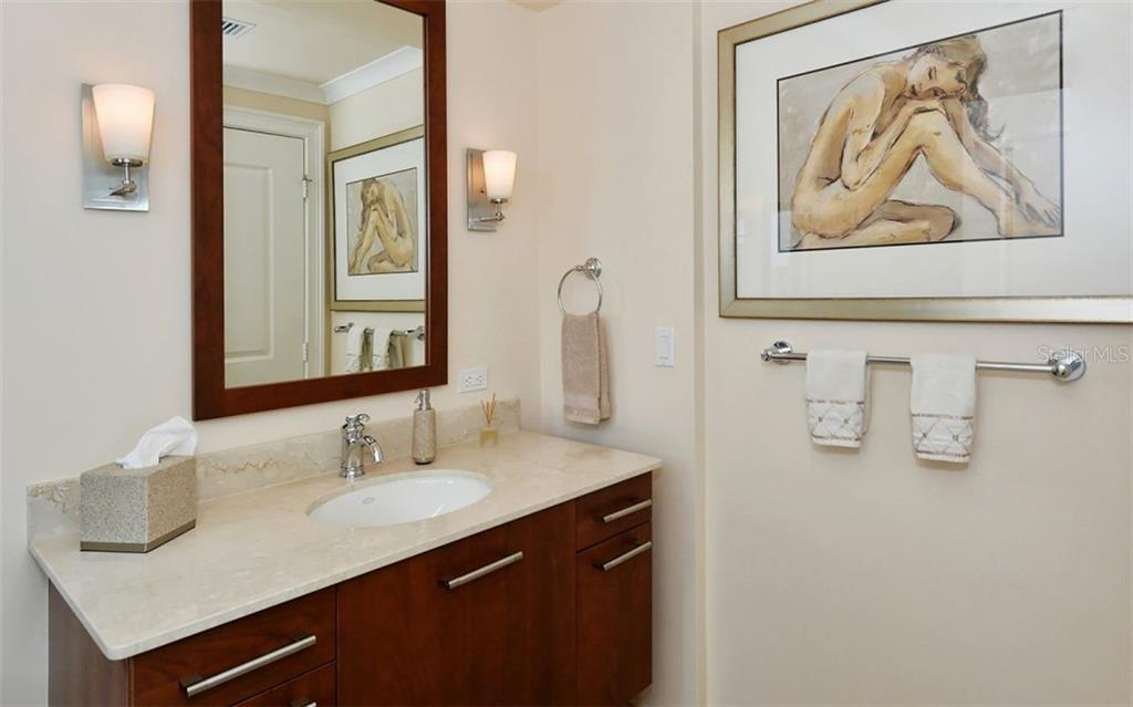 Guest bath - Condo for sale at 1350 Main St #1500, Sarasota, FL 34236 - MLS Number is A4433444
