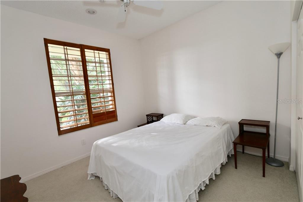 Bedroom - on main floor - Single Family Home for sale at 5082 47th St W, Bradenton, FL 34210 - MLS Number is A4435806
