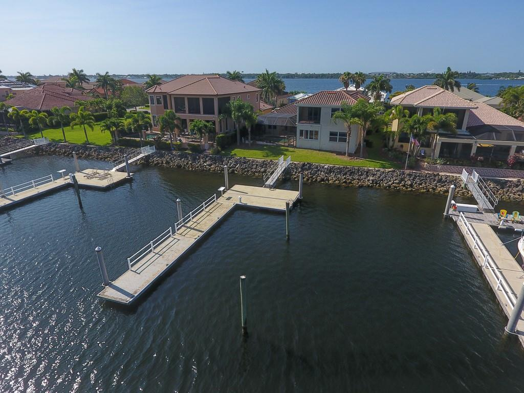 Your own private dock - Single Family Home for sale at 902 Riviera Dunes Way, Palmetto, FL 34221 - MLS Number is A4436277