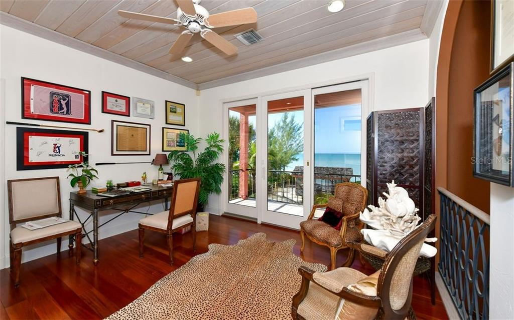 Second Floor Office - Single Family Home for sale at 3809 Casey Key Rd, Nokomis, FL 34275 - MLS Number is A4437924