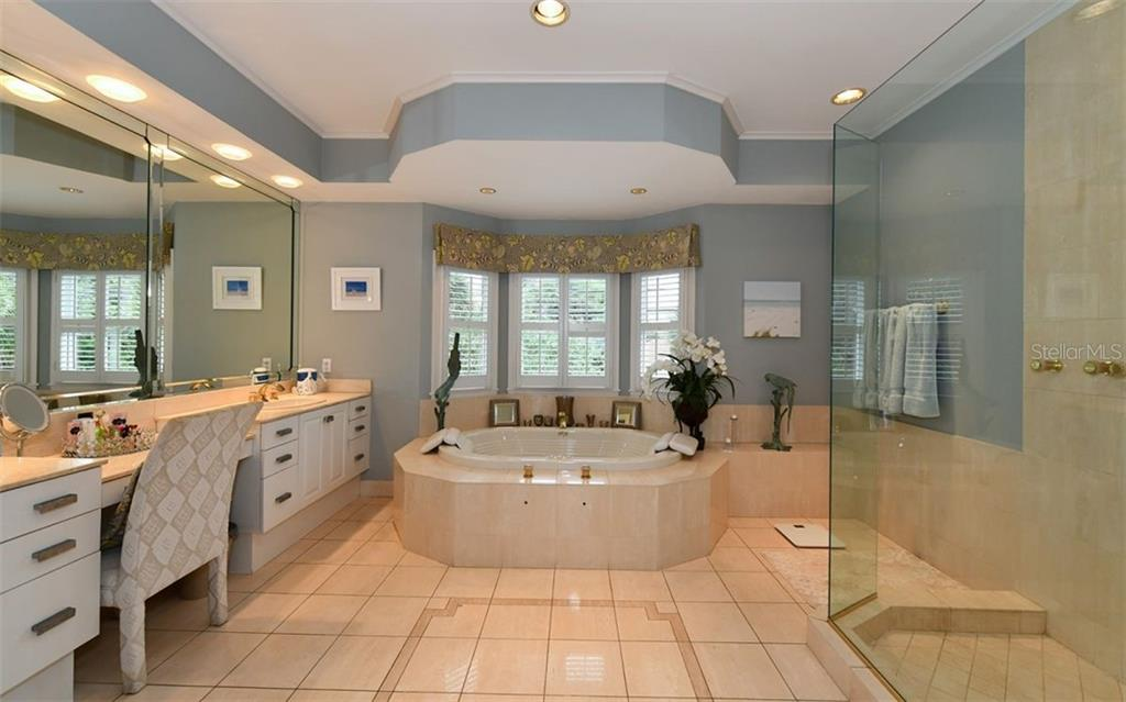 Master Bath - Single Family Home for sale at 3809 Casey Key Rd, Nokomis, FL 34275 - MLS Number is A4437924