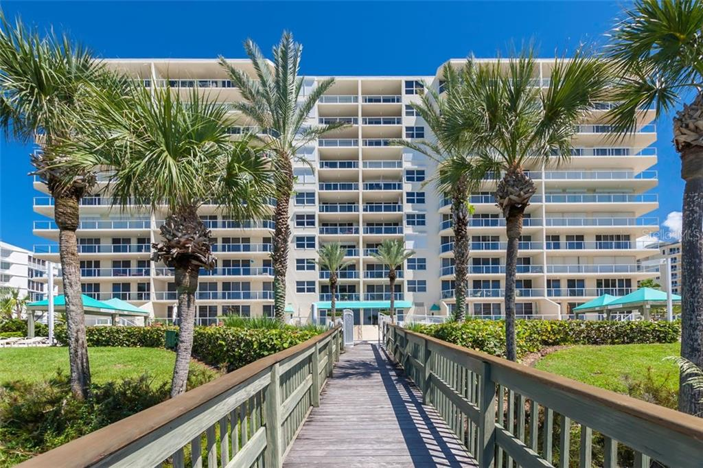 Private Beach Boardwalk. - Condo for sale at 1800 Benjamin Franklin Dr #b408, Sarasota, FL 34236 - MLS Number is A4444789