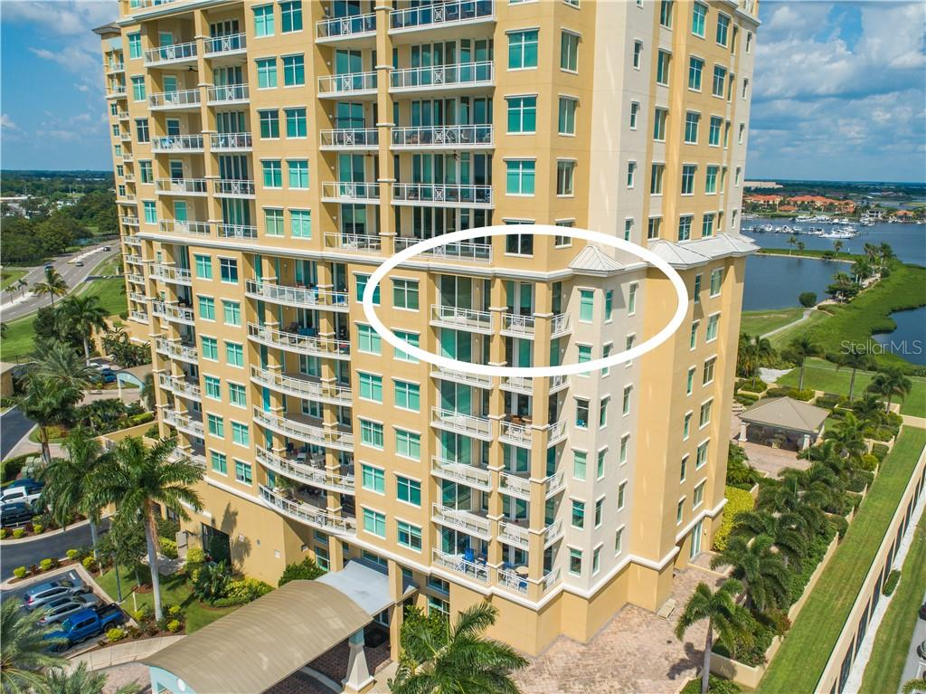 Floor Plan - Condo for sale at 130 Riviera Dunes Way #704, Palmetto, FL 34221 - MLS Number is A4444854