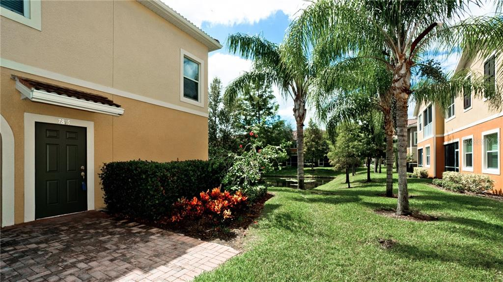 Private side entrance to 2nd floor unit - Condo for sale at 7815 Moonstone Dr #24-204, Sarasota, FL 34233 - MLS Number is A4446867