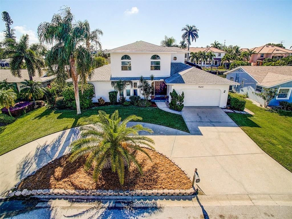 Waterfront Island Living! - Single Family Home for sale at 523 67th St, Holmes Beach, FL 34217 - MLS Number is A4447854
