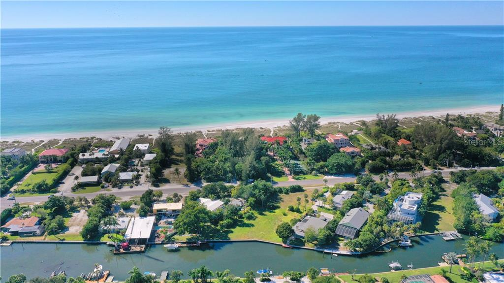 5910 Gulf of Mexico has over 31,000 Sq Ft to build your dream home on Longboat Key - Vacant Land for sale at 5910 Gulf Of Mexico Dr, Longboat Key, FL 34228 - MLS Number is A4450538