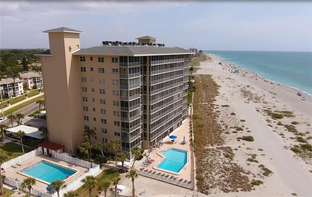 Your condo is beach front on Venice Island. - Condo for sale at 555 The Esplanade N #102, Venice, FL 34285 - MLS Number is A4450635