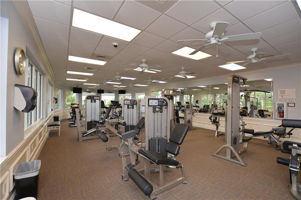 Community Fitness - Single Family Home for sale at 5799 Benevento Dr, Sarasota, FL 34238 - MLS Number is A4450677