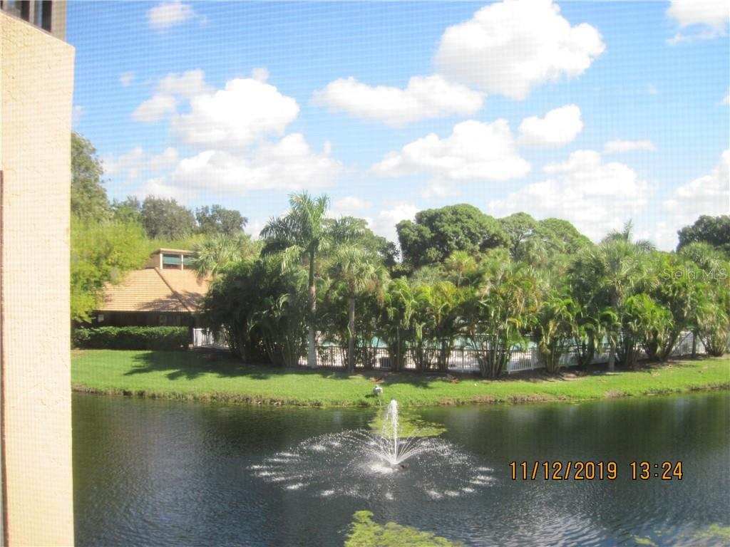 pool view - Condo for sale at 5525 Ashton Lake Dr #5525, Sarasota, FL 34231 - MLS Number is A4451290