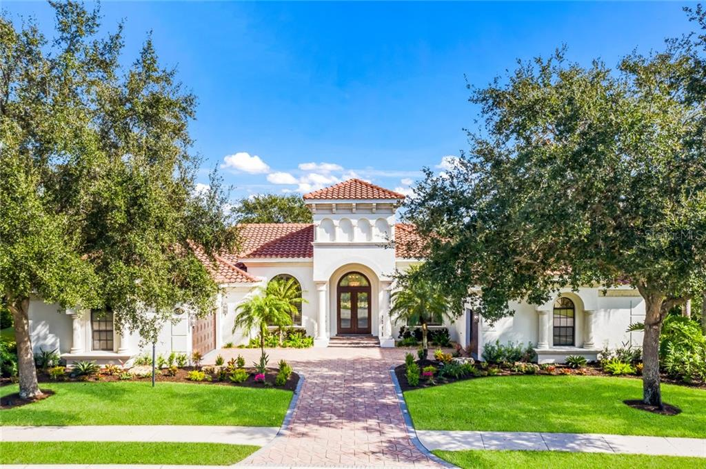 ANCHOR BUILT HOME WITH 4 BEDROOMS, 4.5 BATHS AND THREE CAR GARAGE.  FRONT EXPOSURE IS WEST FACING. - Single Family Home for sale at 12551 Highfield Cir, Lakewood Ranch, FL 34202 - MLS Number is A4452079