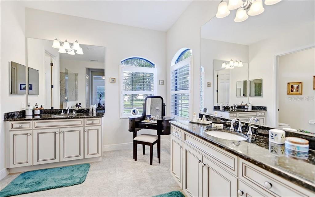 Master Bath - Single Family Home for sale at 8260 Larkspur Cir, Sarasota, FL 34241 - MLS Number is A4455087