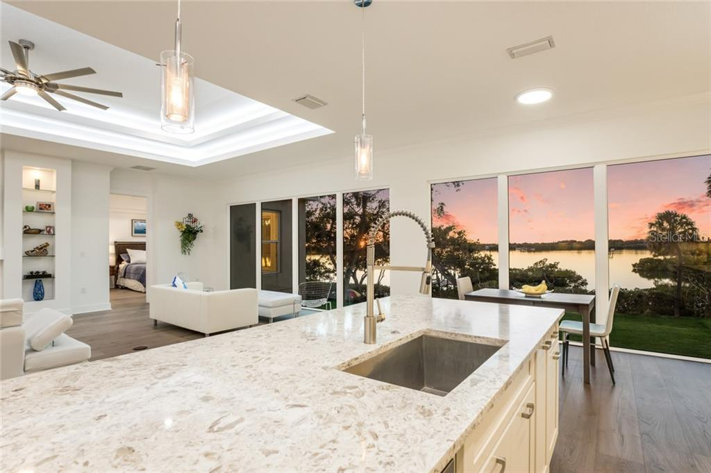 Enjoy the view while you do dishes! Beautiful quartz countertops. - Single Family Home for sale at 6125 1st Ter E, Palmetto, FL 34221 - MLS Number is A4455618