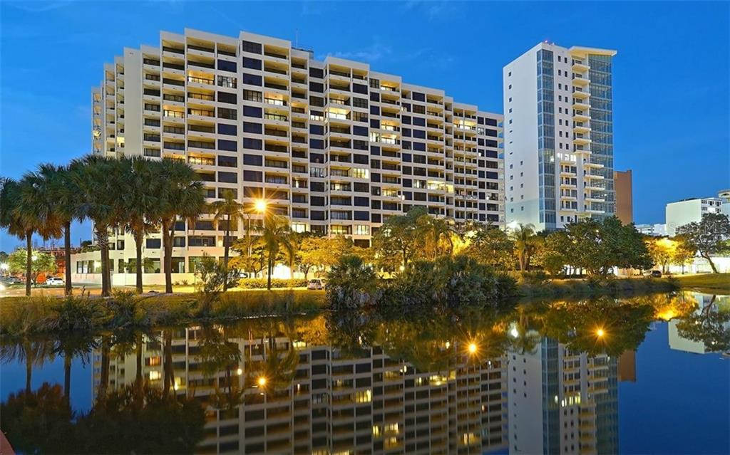 Bay Plaza - Condo for sale at 1255 N Gulfstream Ave #1001, Sarasota, FL 34236 - MLS Number is A4456325
