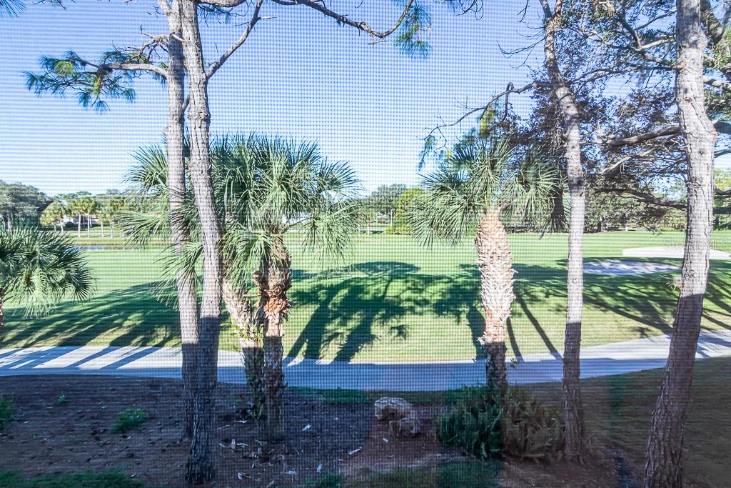 Gorgeous view from glassed-in lanai - Condo for sale at 9570 High Gate Dr #1722, Sarasota, FL 34238 - MLS Number is A4457005
