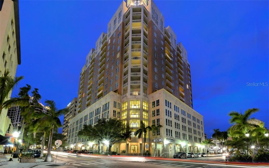 Floor plan - Condo for sale at 1350 Main St #1004, Sarasota, FL 34236 - MLS Number is A4458406
