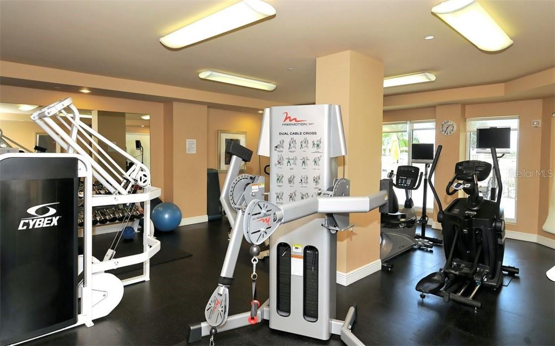 Fitness center - Condo for sale at 100 Central Ave #A304, Sarasota, FL 34236 - MLS Number is A4458873