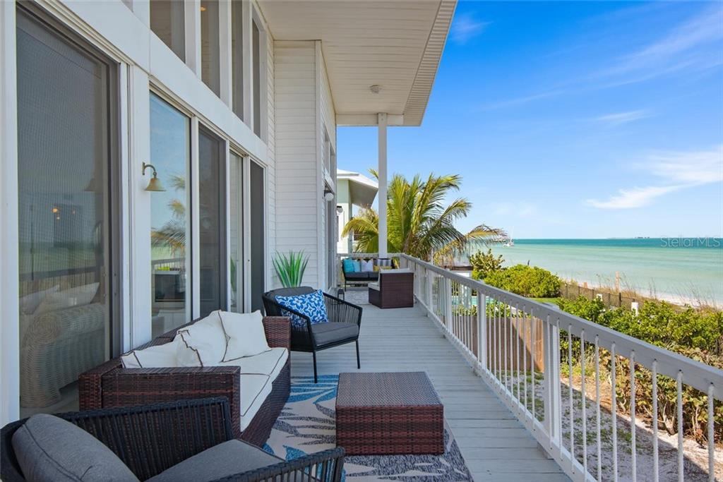 Main level balcony - Single Family Home for sale at 710 S Bay Blvd, Anna Maria, FL 34216 - MLS Number is A4461640
