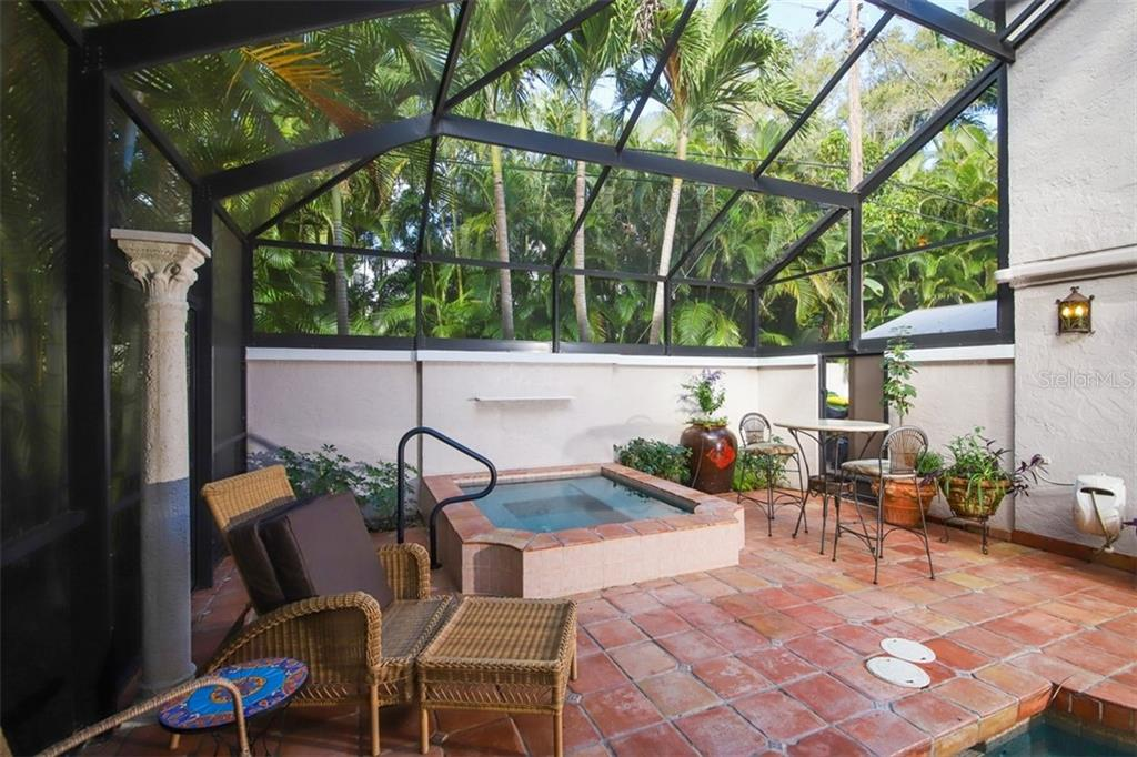 Gas heated spa - Single Family Home for sale at 3838 Flores Ave, Sarasota, FL 34239 - MLS Number is A4461669