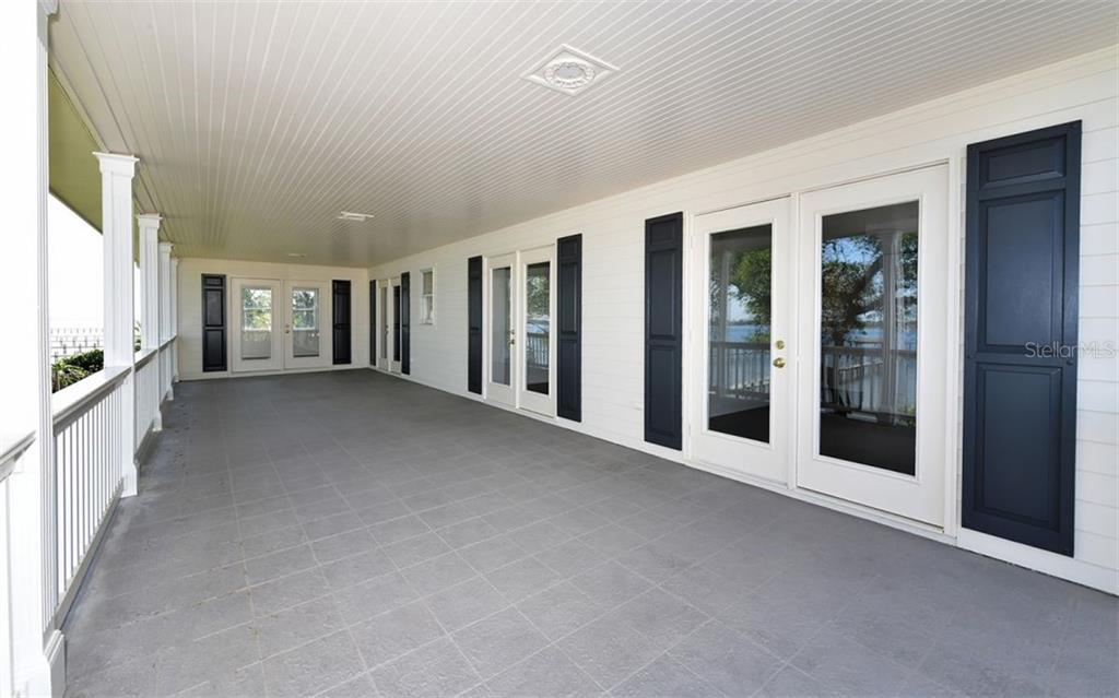 Second Floor Porch - Single Family Home for sale at 4700 Riverview Blvd, Bradenton, FL 34209 - MLS Number is A4462708