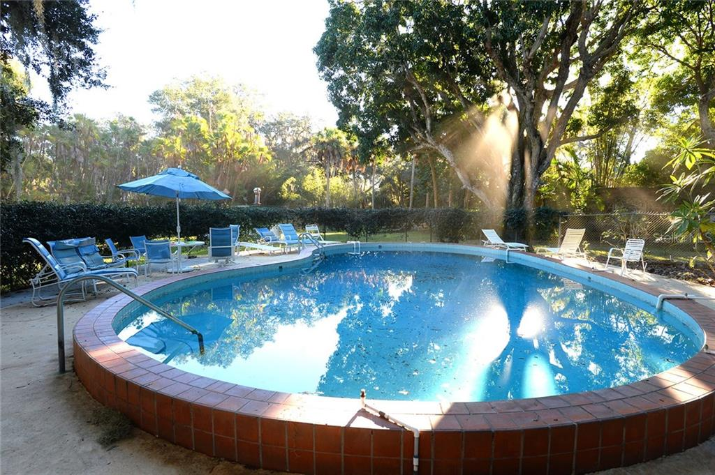Pool & courtyard. - Single Family Home for sale at 2229 Mcclellan Pkwy, Sarasota, FL 34239 - MLS Number is A4463211