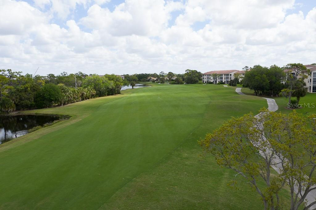 3rd hole view - Condo for sale at 9630 Club South Cir #6102, Sarasota, FL 34238 - MLS Number is A4463325