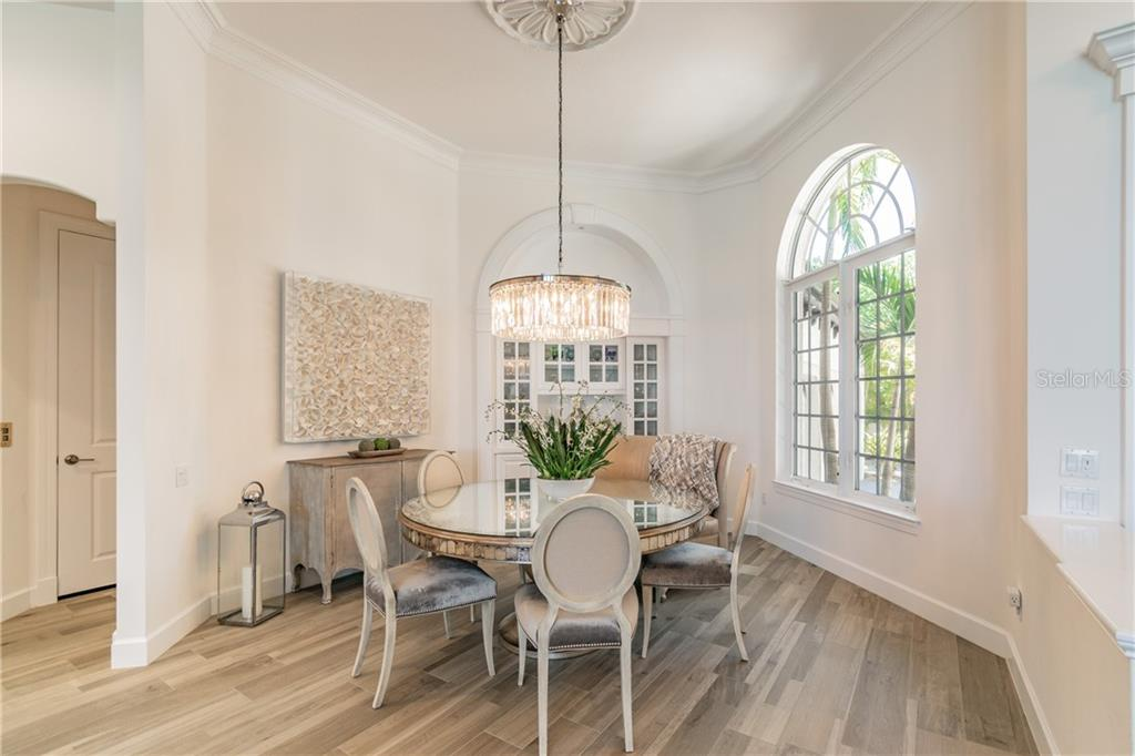 Dining Room - Single Family Home for sale at 1418 John Ringling Pkwy, Sarasota, FL 34236 - MLS Number is A4467093