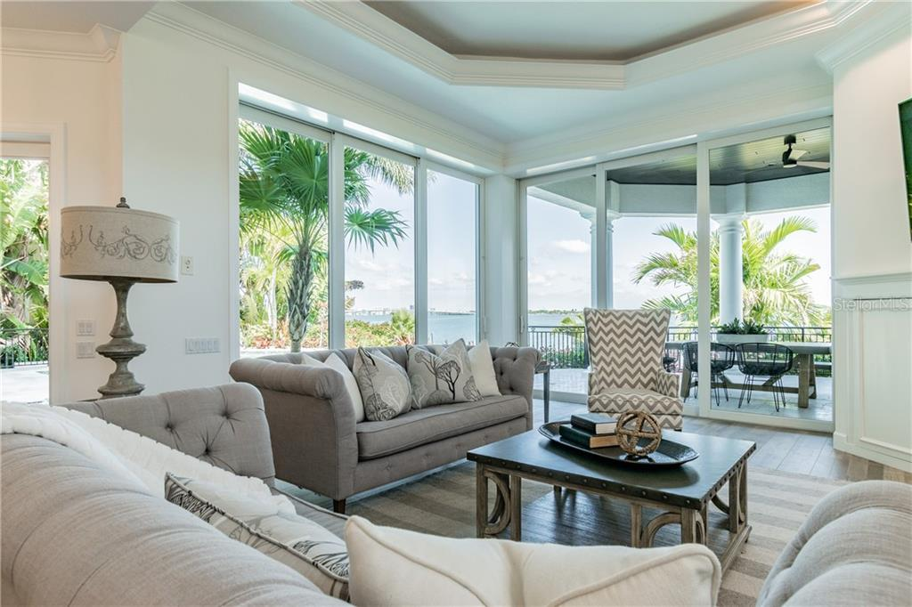 Family room views - Single Family Home for sale at 1418 John Ringling Pkwy, Sarasota, FL 34236 - MLS Number is A4467093