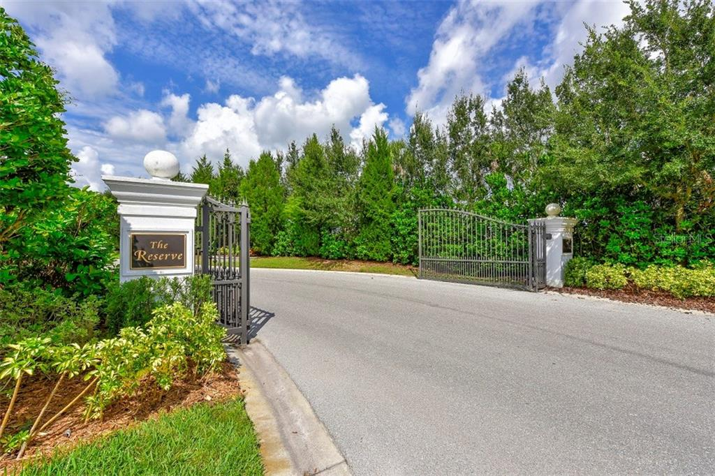 Entering The Reserve at Harbour Walk - Vacant Land for sale at 680 Regatta Way, Bradenton, FL 34208 - MLS Number is A4468555