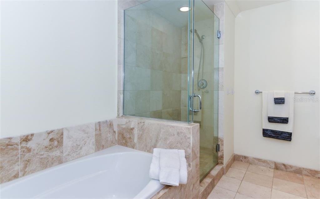 Master bath - Condo for sale at 1350 Main St #701, Sarasota, FL 34236 - MLS Number is A4472236