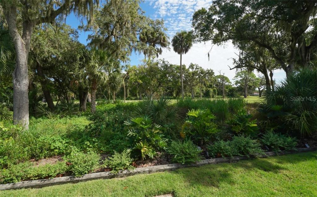 rear green space - Single Family Home for sale at 3538 Trebor Ln, Sarasota, FL 34235 - MLS Number is A4475545