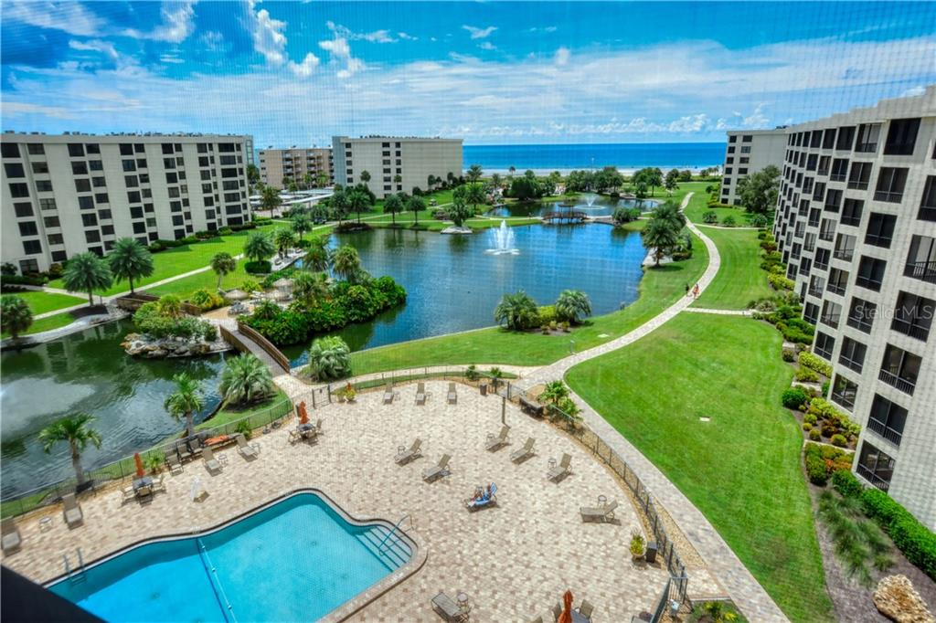View from 710C - Condo for sale at 5770 Midnight Pass Rd #710c, Sarasota, FL 34242 - MLS Number is A4477251