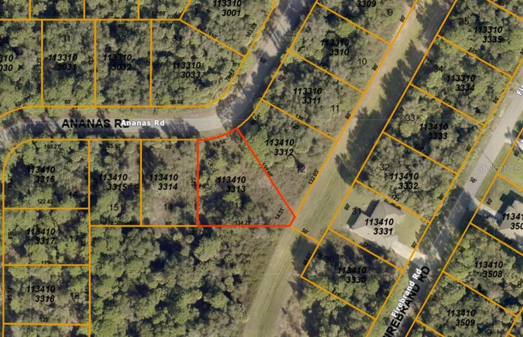 Vacant Land for sale at Ananas Rd, North Port, FL 34288 - MLS Number is A4477991