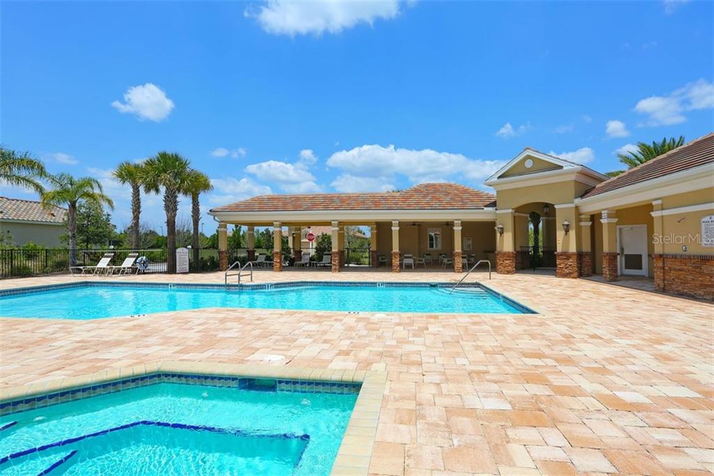 Community Pool & Spa #2 in Hazeltine - Single Family Home for sale at 14507 Leopard Crk, Lakewood Ranch, FL 34202 - MLS Number is A4478709