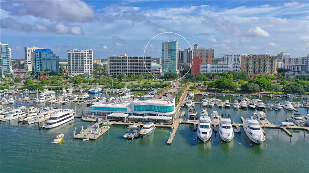 MLS DISCLOSURES - Condo for sale at 1301 Main St #802, Sarasota, FL 34236 - MLS Number is A4480201