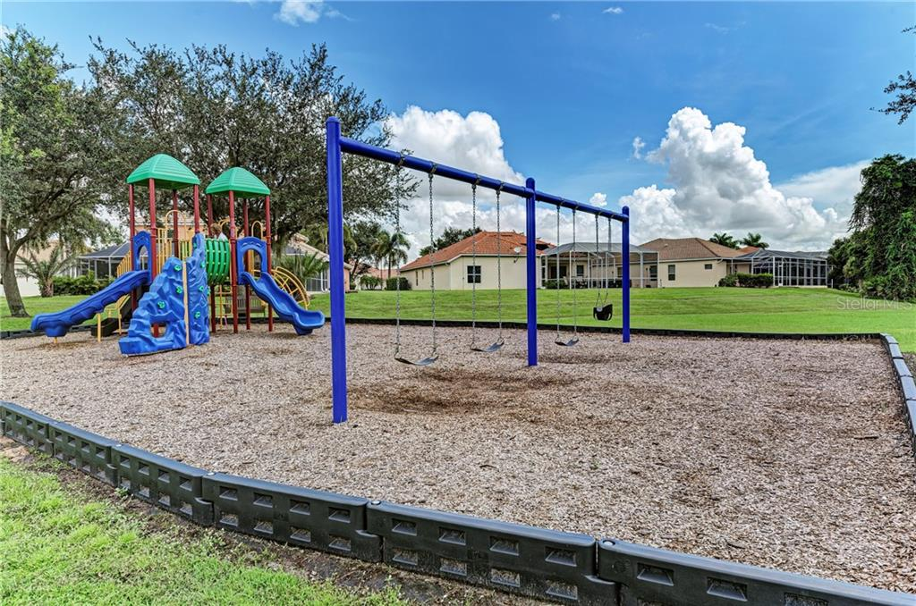 Community playground - Single Family Home for sale at 7118 68th Dr E, Bradenton, FL 34203 - MLS Number is A4480398