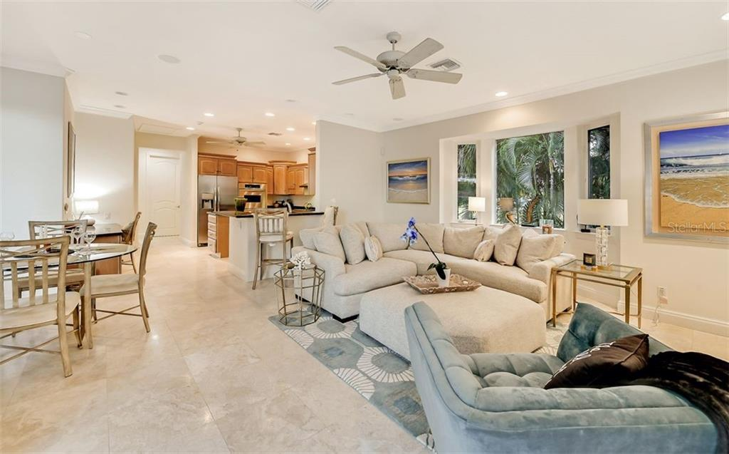 Light & Bright with amazing water views in your family room & kitchen - Single Family Home for sale at 501 Cutter Ln, Longboat Key, FL 34228 - MLS Number is A4480484