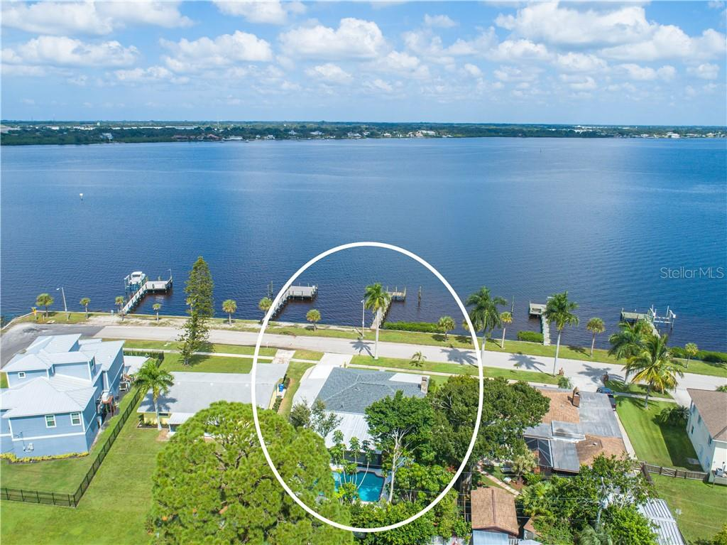 Beautifully remodeled home with breathtaking views of the Manatee River, large private pool, expansive screen porch, and private dock. - Single Family Home for sale at 2408 Riverside Dr E, Bradenton, FL 34208 - MLS Number is A4480609