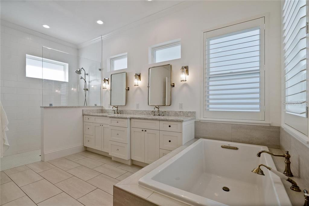 Master Bathroom - Single Family Home for sale at 1778 Hyde Park St, Sarasota, FL 34239 - MLS Number is A4480901