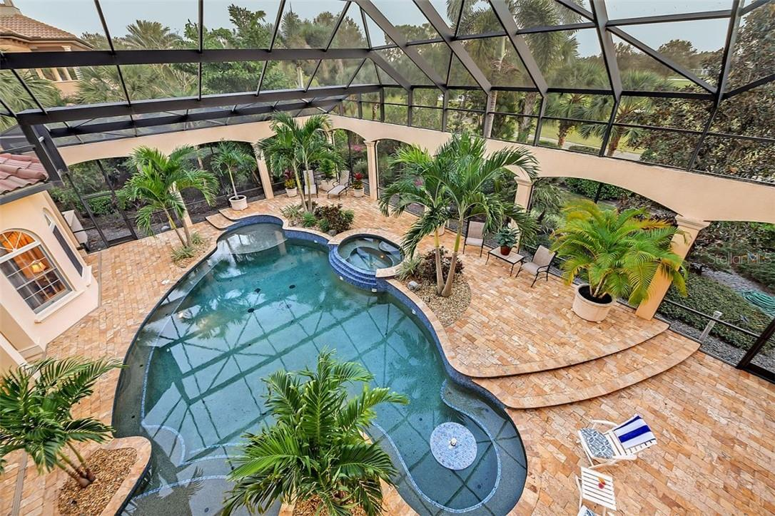 THE VIEW FROM  THE UPPER TERRACE ...WOW.. - Single Family Home for sale at 8263 Archers Ct, Sarasota, FL 34240 - MLS Number is A4483993