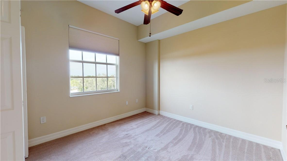 Second bedroom North facing window - Condo for sale at 5591 Cannes Cir #506, Sarasota, FL 34231 - MLS Number is A4484243