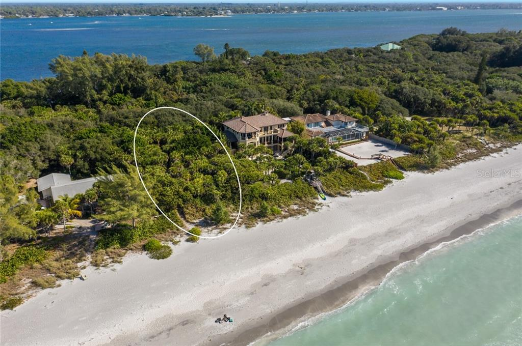 One+ Acre, 100' of Beach Front - Vacant Land for sale at 6390 Manasota Key Rd, Englewood, FL 34223 - MLS Number is A4487442