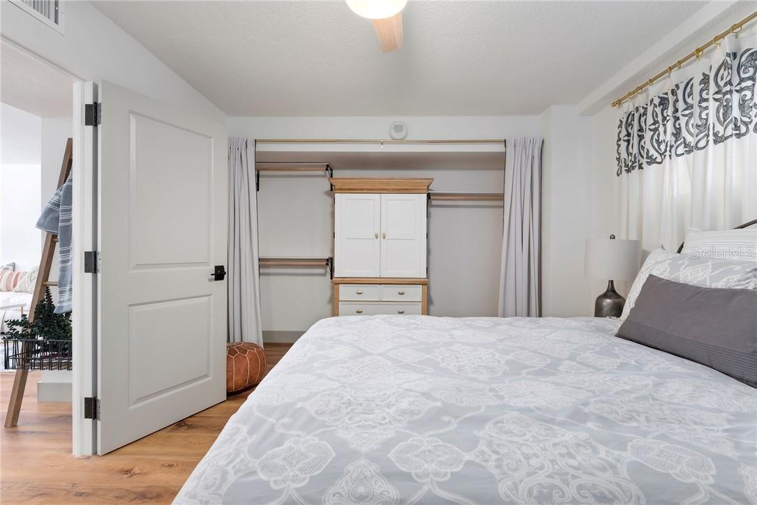 Custom Closet system with Refinished Armoire - Condo for sale at 33 S Gulfstream Ave #405, Sarasota, FL 34236 - MLS Number is A4489097