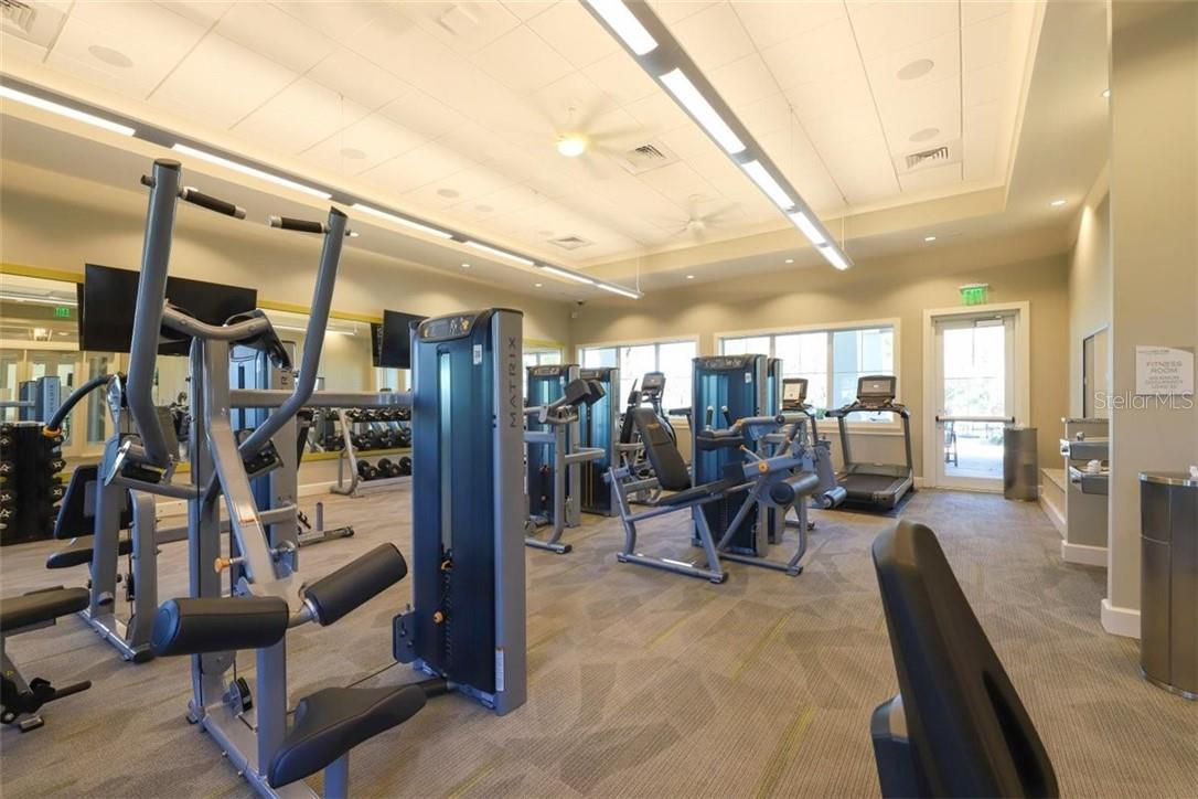 State of the art fitness center- no waiting and extremely well maintained and clean. - Single Family Home for sale at 11713 Blue Hill Trl, Bradenton, FL 34211 - MLS Number is A4490622